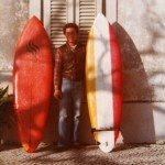 The first surfboards in 1978